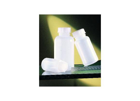 Plastflaske med låg