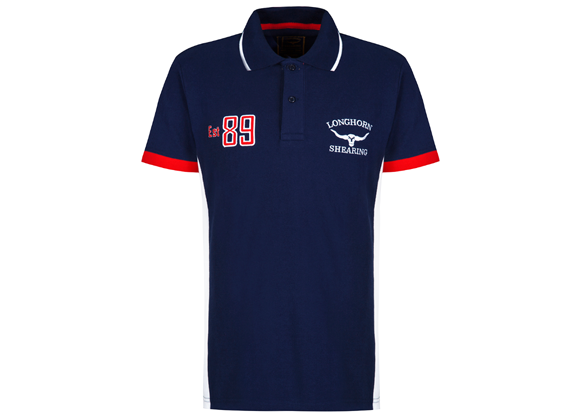 Hereford Navy Polo