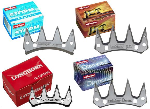Knive til klippemaskiner